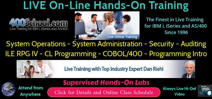 IBM i Training - The 400 School